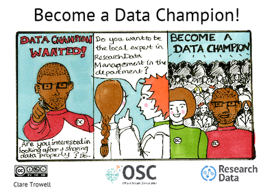 Become a Data Champion CC-BY-NC-ND Clare Trowell