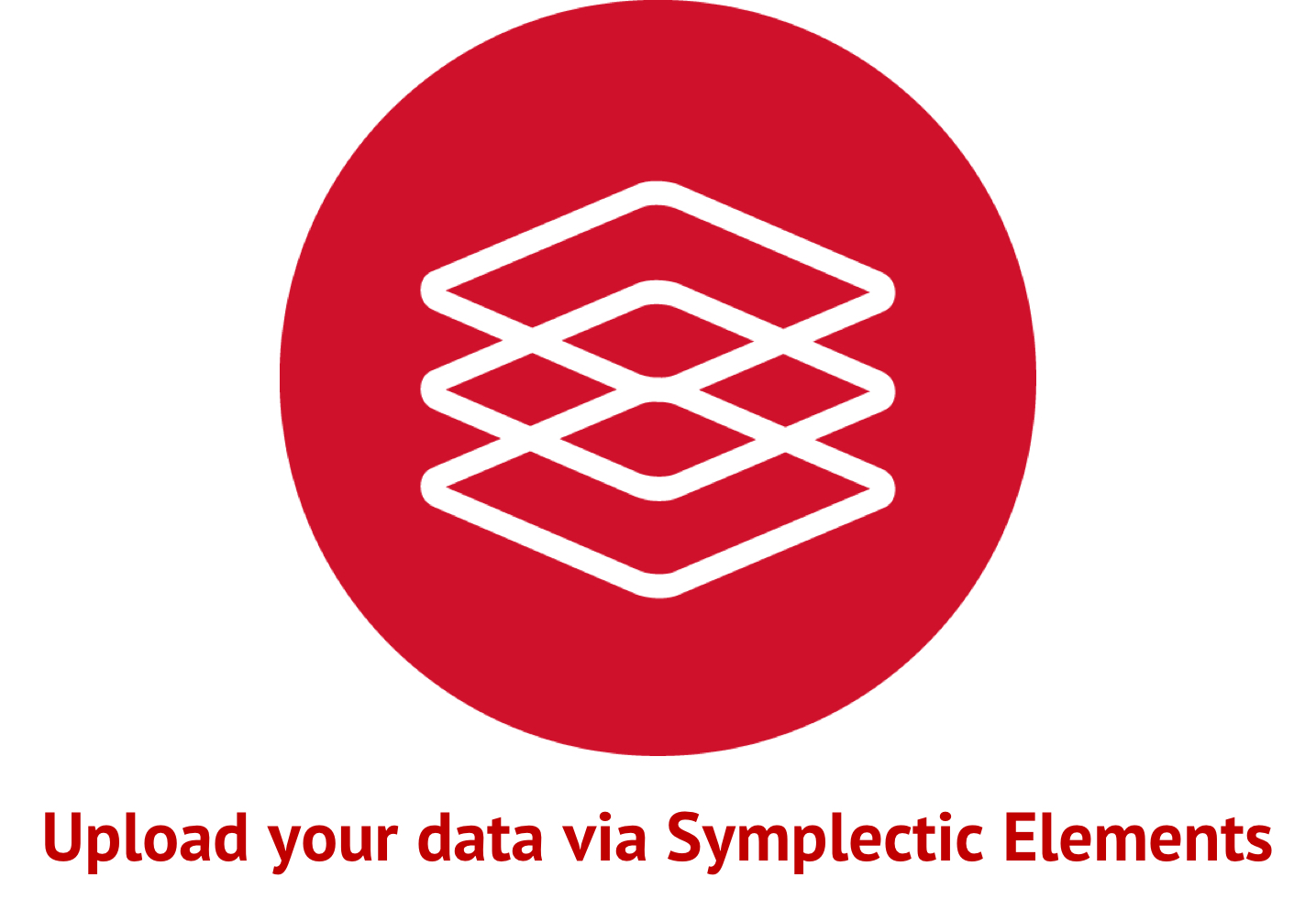 Upload your data via Symplectic Elements